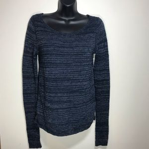 HOLLISTER Lace Back Long Sleeve Sweater, Size S